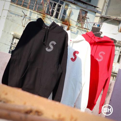 Supreme S Logo Hooded Sweatshirt