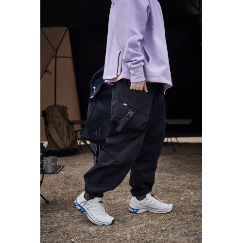LAKH Supply Slanted Pockets Cargo Pants